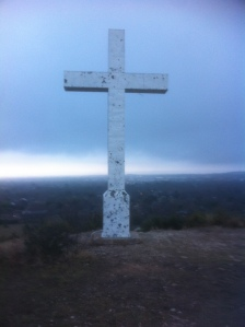 Cross Mountain at frontal passage